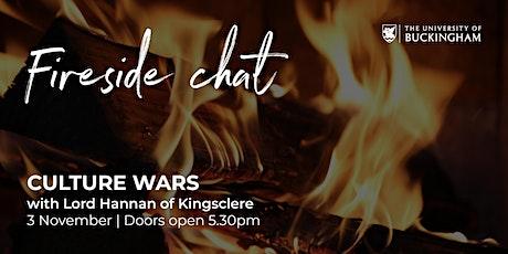 Fireside Chat - Lord Hannan of Kingsclere tickets
