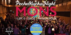 9th Pechakucha Night Mons !
