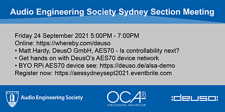 Audio Engineering Society Sydney Section Meeting tickets