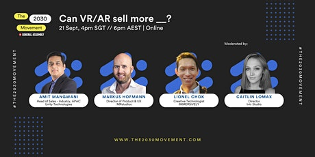 2030 Movement: Can VR/AR sell more __? tickets