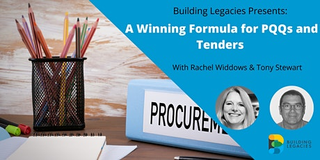 A Winning Formula for PQQs and Tenders tickets