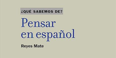 Pensar en español entradas