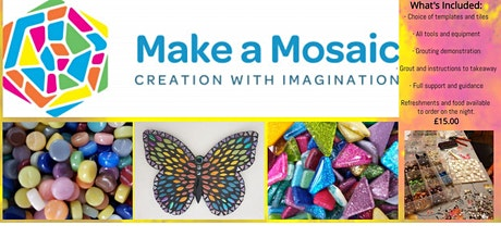 Make a Mosaic for Beginners tickets