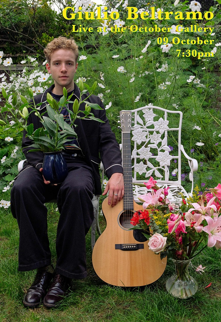 Giulio Beltramo Live at  The October Gallery | London Live Music Concert | image