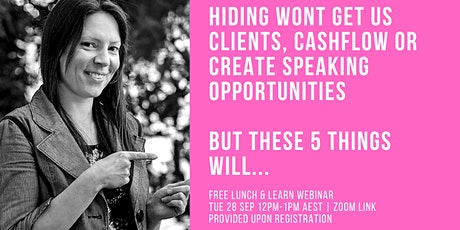 5  keys to clients cashflow and creating speaking opportunities online tickets