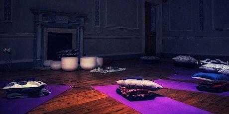 Crystal Soundbath infused with Reiki healing tickets