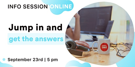 Le Wagon (Coding Bootcamp): Online Information Session tickets