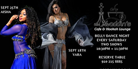 Belly Dance Night at Aladdins Hookah Cafe tickets