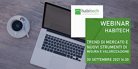 Webinar Habitech Trend di mercato e strumenti di misura e valorizzazione biglietti