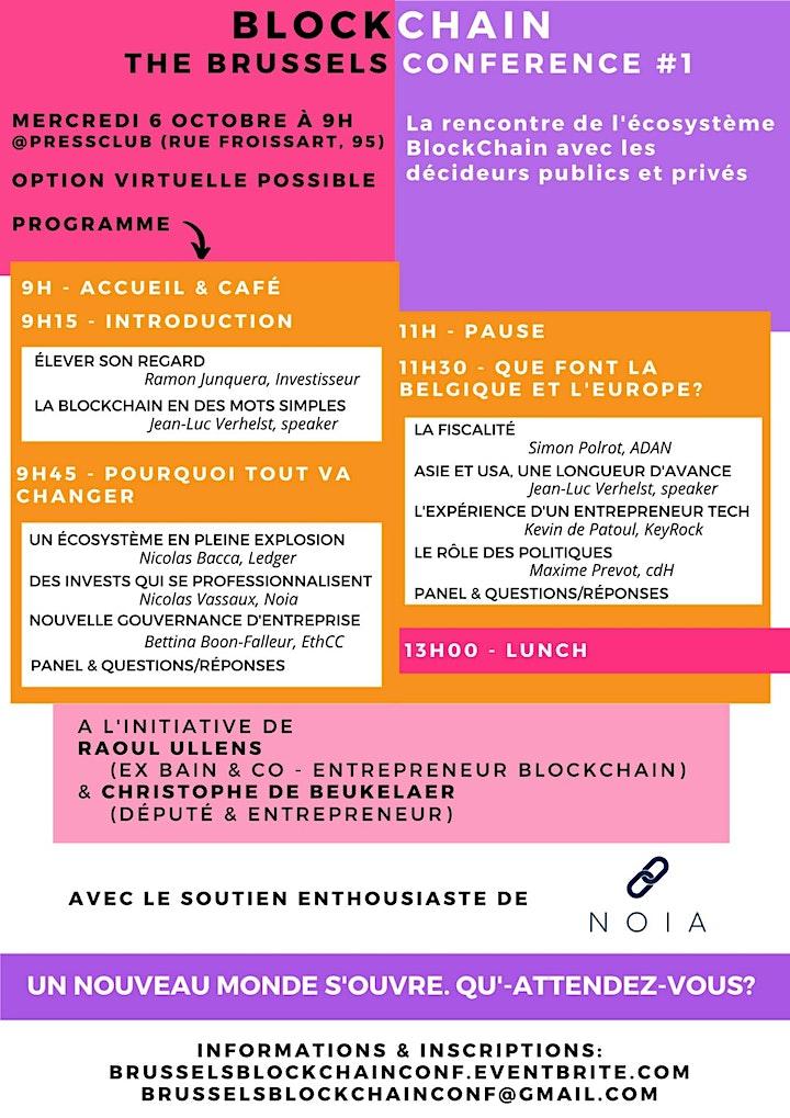 Image pour Brussels Blockchain Conference