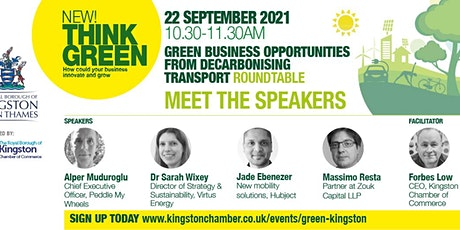 Think Green! Business Opportunities from Decarbonising Transport tickets