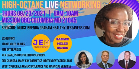 High-Octane Networking 2 - LIVE EVENT tickets