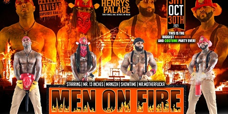 MEN OF FIRE tickets
