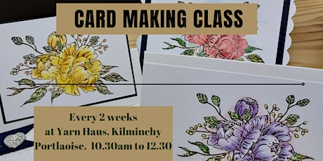 Card Making - Repeats Fortnightly. tickets