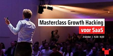 Masterclass Growth Hacking voor SaaS tickets