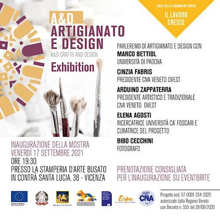 Immagine A&D Artigianato e Design - presentazione libro e mostra
