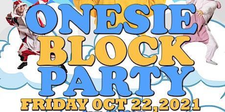Onesie Block Party tickets