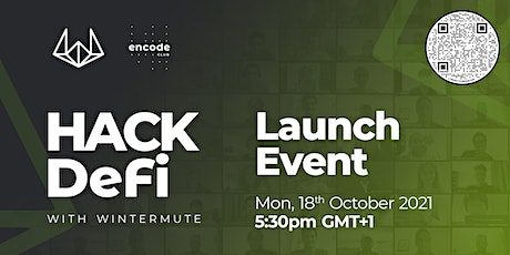Hack DeFi with Wintermute: Launch Event tickets