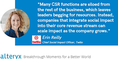 Breakthrough Moments For A Better World featuring Erin Reilly, Twilio tickets