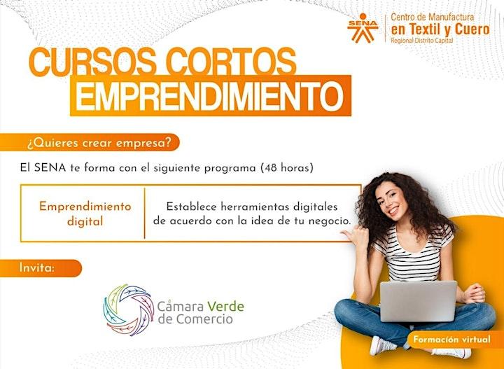 Imagen de Alianza SENA: Curso con certificado en EMPRENDIMIENTO DIGITAL