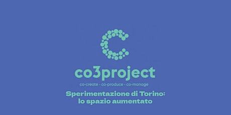 Evento di lancio del progetto CO3 biglietti