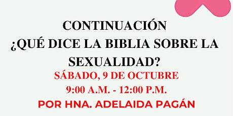Continuación Sobre Que Dice la Biblia Sobre la Sexualidad entradas