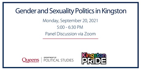 Gender and Sexuality Politics in Kingston tickets