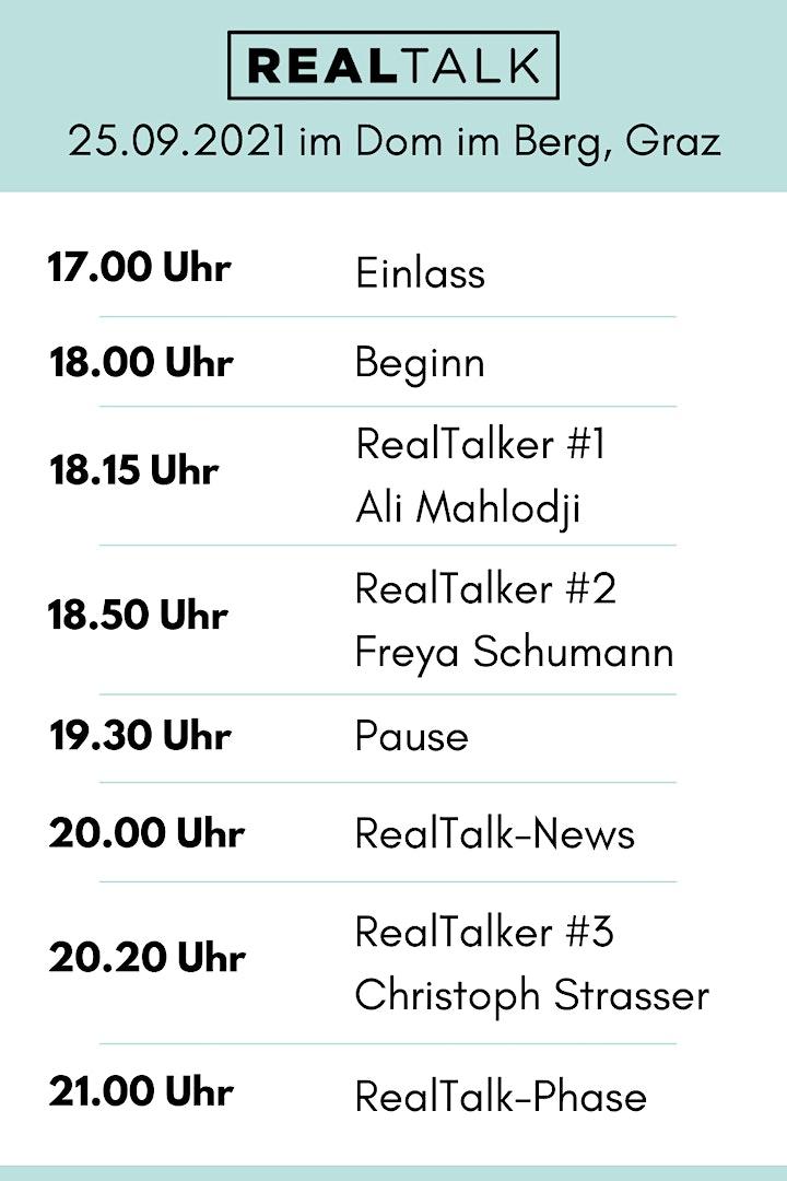 RealTalk X - Ein Event, das verändert: Bild