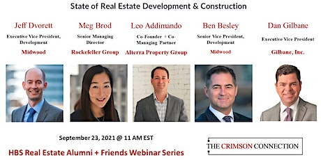 The State of Real Estate Development and Construction tickets