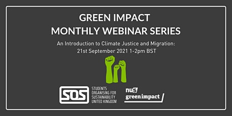An Introduction to Climate Justice and Migration tickets