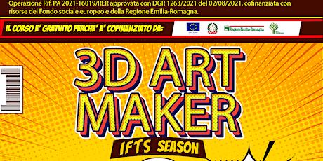 IFTS 3D ART MAKER 2021 biglietti