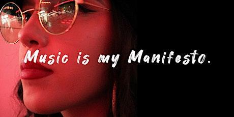 Music Is My Manifesto | Free Workshop | 2 Oct 2021 tickets