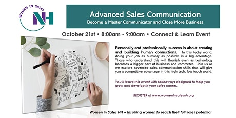 Advanced Sales Communication tickets