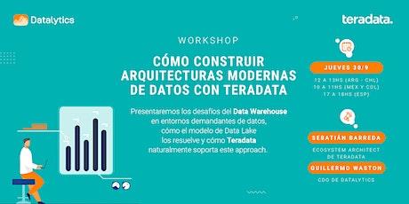 Cómo construir arquitecturas modernas de datos con Teradata entradas