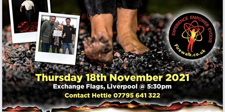Sponsored Firewalk with Lord Mayor of Liverpool Cllr Mary Rasmussen tickets