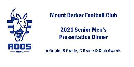 Mount Barker Football Club - Senior Men's Presentation Dinner tickets