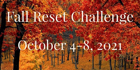 Fall 2021 Reset Challenge tickets