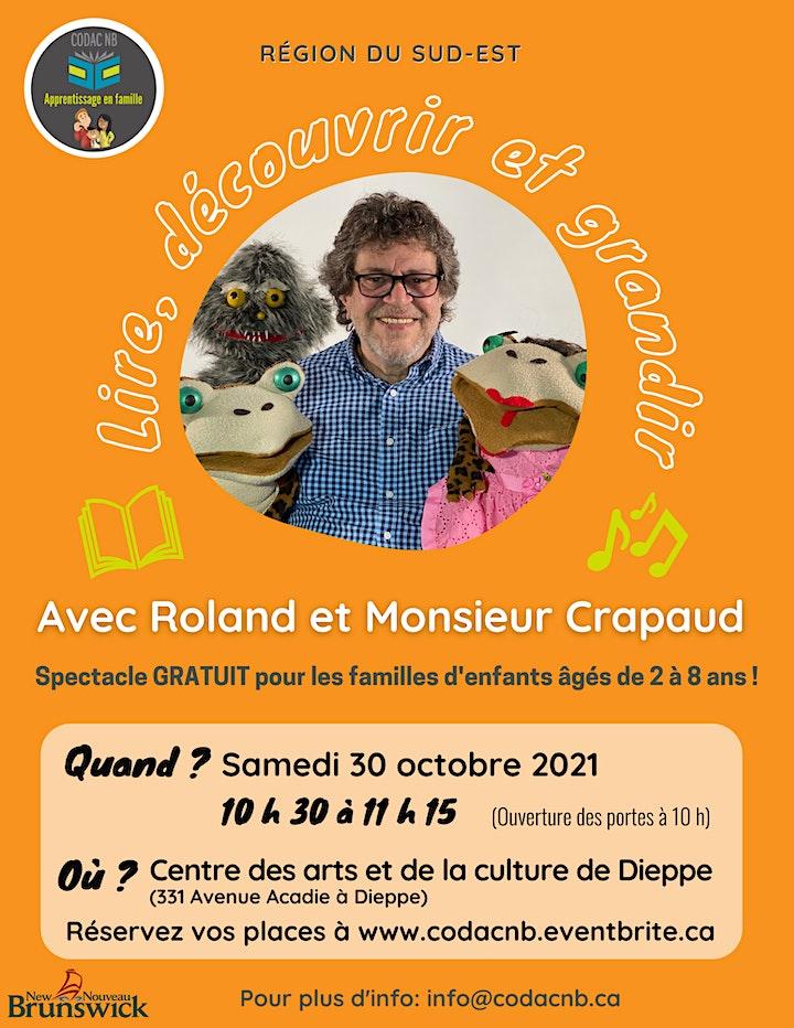 Image de Lire, découvrir et grandir avec Roland et Monsieur Crapaud
