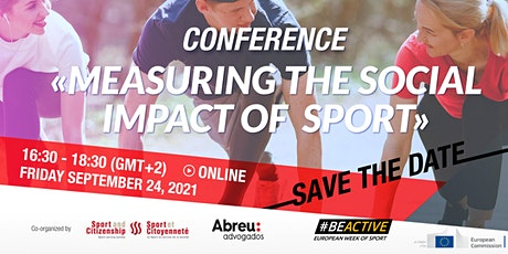 Conference: Measuring the social impact of Sport ingressos