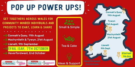 Eden Communities Wales Pop-Up Power-Up in Efail Isaf tickets