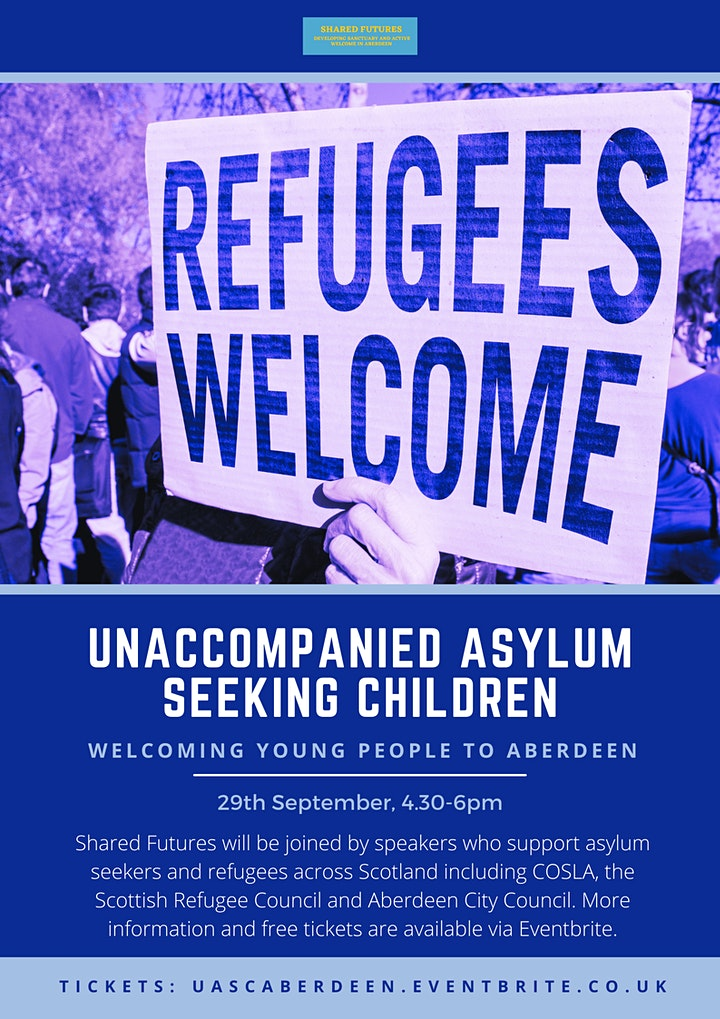 Unaccompanied Asylum Seeking Children: welcoming young people to Aberdeen image