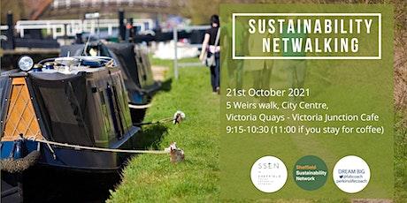 Sustainability Netwalking: October tickets
