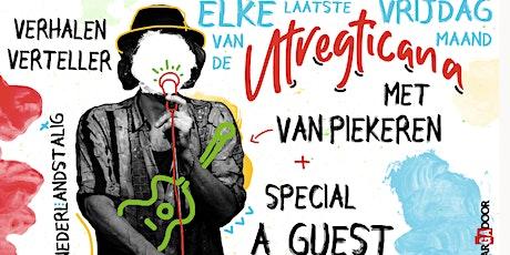 Utregticana: Alex Sieger en Van Piekeren (single) tickets