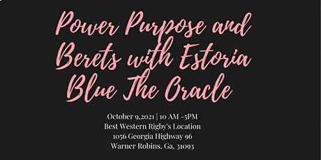 Power, Purpose, and Berets tickets