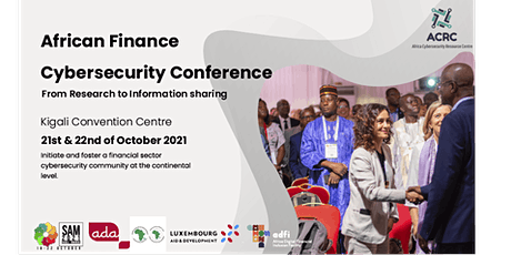 African Finance Cybersecurity Conference 2021 tickets