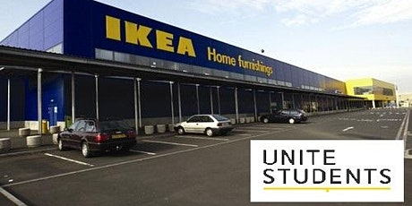 Unite Students trip to IKEA tickets