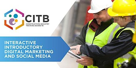 Introductory Digital Marketing & Social Media tickets