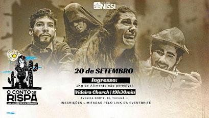 O CONTO DE RISPA | PRESENCIAL - 19h30m ingressos