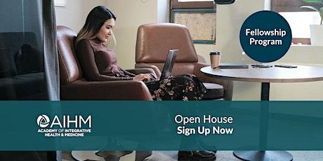 Open House for AIHM Fellowship Program tickets