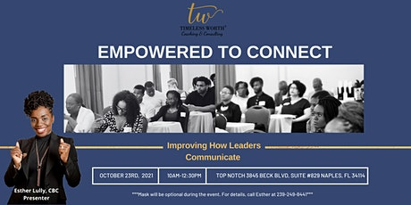 EMPOWERED TO CONNECT tickets